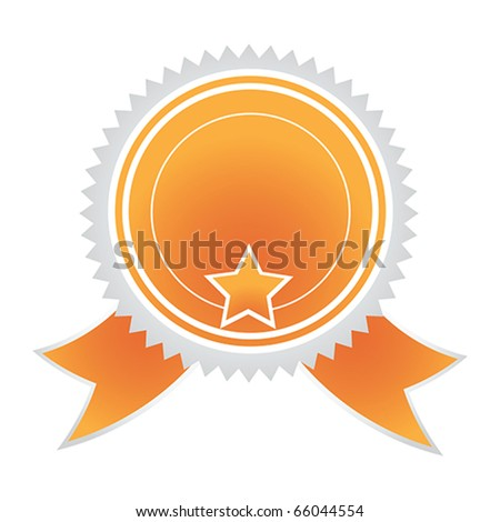 Vector Satisfaction Guaranteed label tag isolated over white background - stock vector