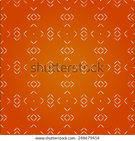 Vector seamless abstract pattern background, geometric design - you can change color and size for decoration