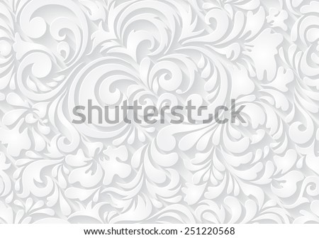 Vector seamless abstract pattern. Paper style.  - stock vector