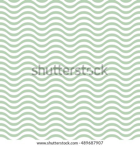 Vector seamless abstract pattern, waves