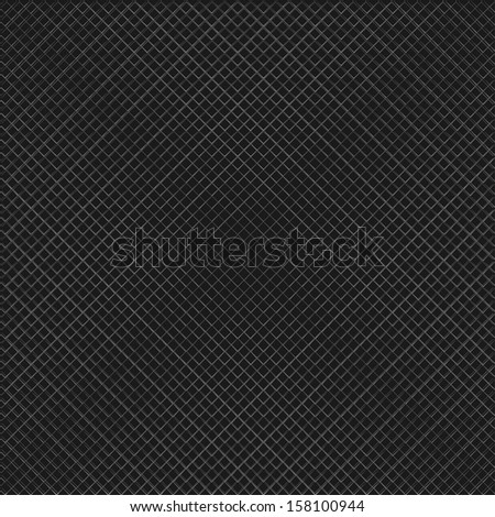 Vector seamless background, grille. - stock vector