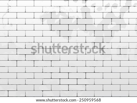 Vector seamless brick texture. Can be used as flyer, cover, business cards, envelope, and brochure background. - stock vector
