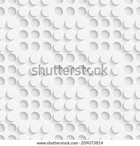 Vector Seamless Circle Background - stock vector