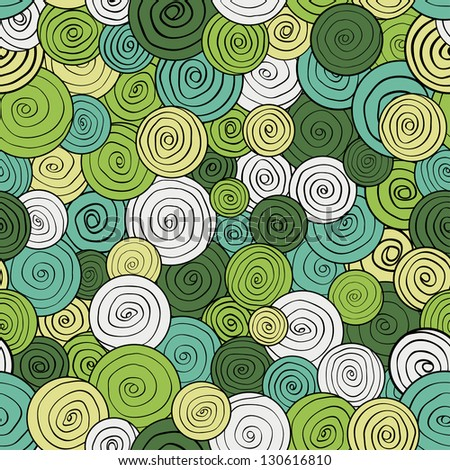 Vector seamless colorful abstract pattern