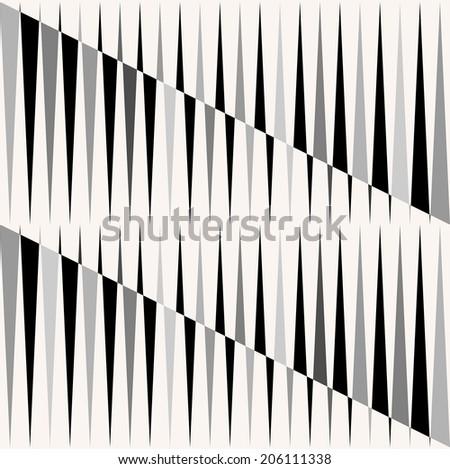 Vector seamless geometric pattern.  - stock vector