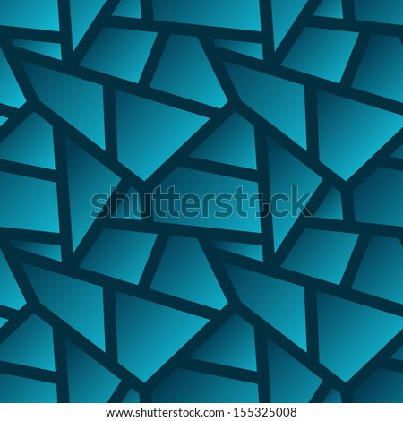 Vector seamless geometric poligonal pattern - abstract background for design with gradients - stock vector