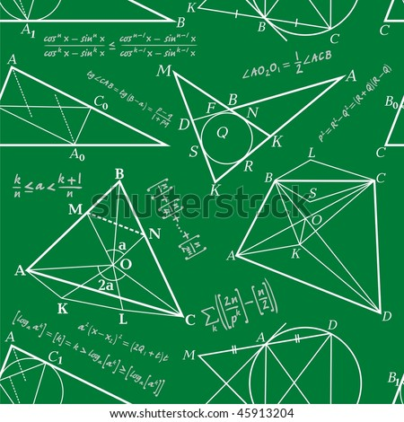 Vector Seamless geometrical background