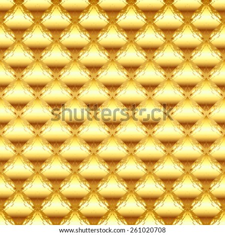Vector Seamless Metal Background Pattern - stock vector