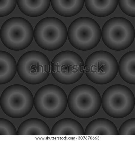 Vector seamless of grey optical illusion pattern.