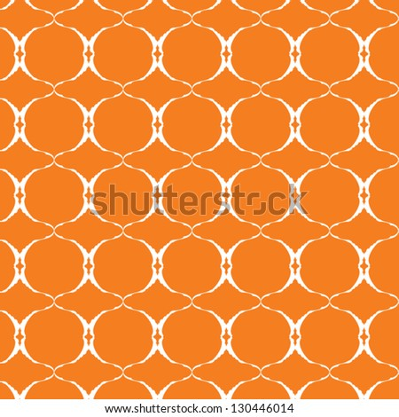 vector seamless orange background - stock vector