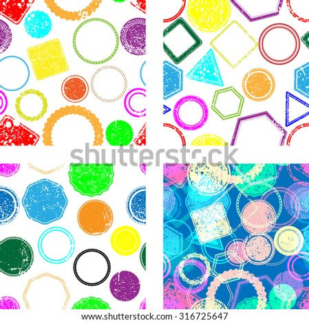 Vector Seamless Pattern .