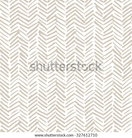 Vector seamless pattern, abstract background with hand drawn smeared random lines and trendy hipster style texture. - stock vector