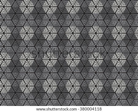 Vector seamless pattern. Abstract geometric background.