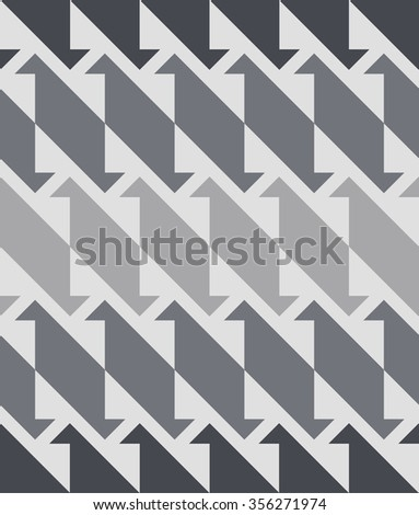 Vector seamless pattern. Abstract stylish background with stylized petals. Minimalist graphic print