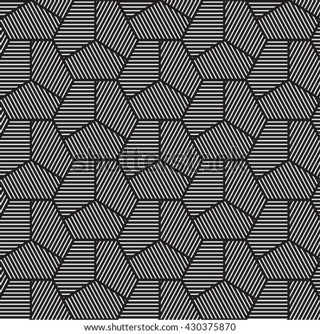 vector seamless pattern background line geometricmodern