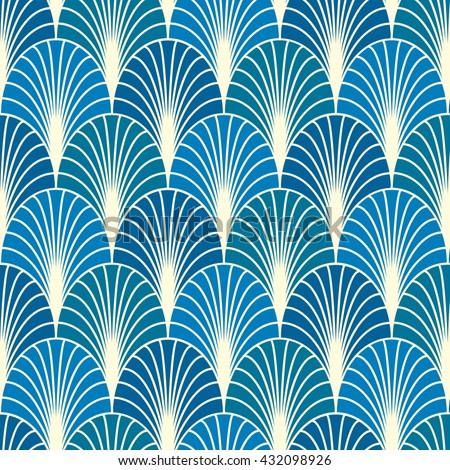 Vector Seamless Pattern Background Line Geometricmodern Stylish Texture Wallpaper Vintage