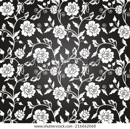 Vector seamless pattern background. Texture for wallpapers, backgrounds and page fill. - stock vector