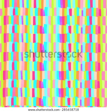 Vector seamless pattern carpet with transparent strips like stickers