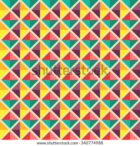 Vector seamless pattern. colorful background