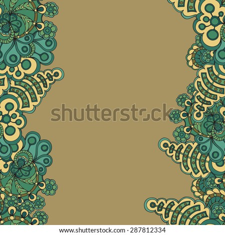 Vector seamless pattern. Endless texture can be used for wallpaper, pattern fills, web page background,surface textures. Used mask. - stock vector