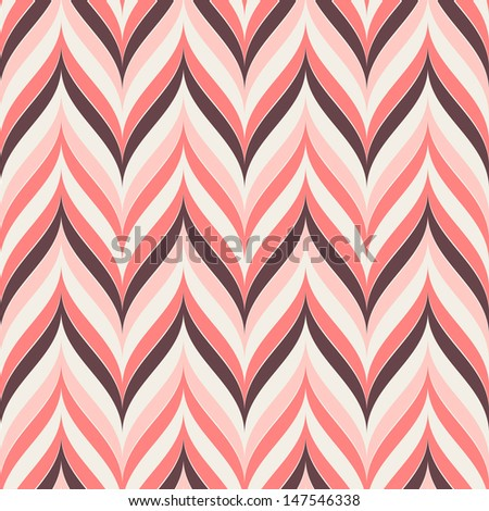 Vector seamless pattern. Geometric stylish background - stock vector