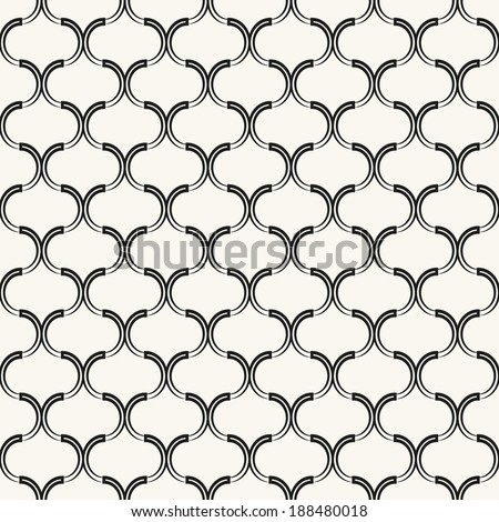 Vector seamless pattern. Geometric texture. Repeating background - stock vector