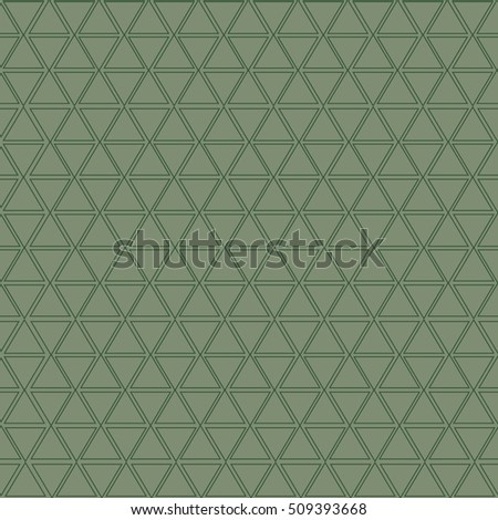 Vector seamless pattern. Geometric texture. Repeating background. triangle