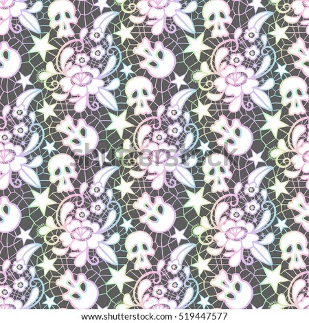 Pastel goth stock images royalty free images vectors shutterstock - Pastel lace wallpaper ...