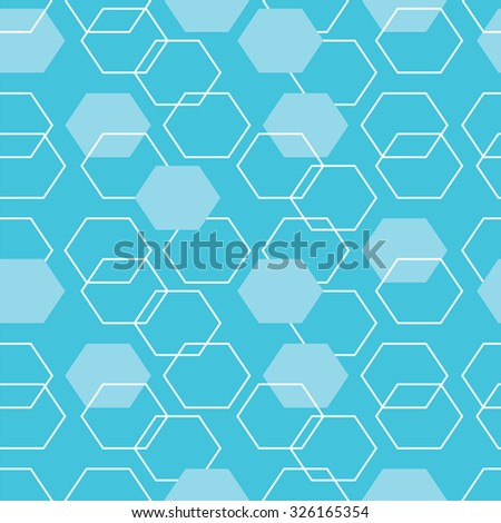 Vector seamless pattern, linear stylish texture, Repeating geometric
