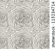 vector seamless pattern. modern stylish linear texture with spiral - stock vector