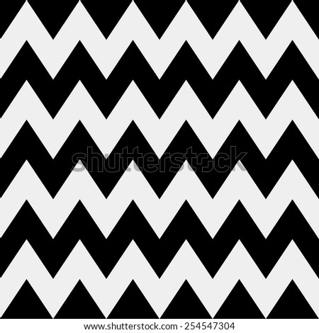 Vector seamless pattern. Modern stylish minimalistic monochrome texture. Repeating geometric tiles of rhombuses or triangles - stock vector