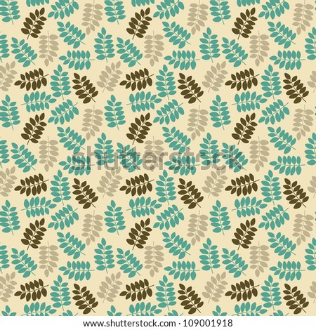vector seamless pattern. modern stylish texture. endless floral background