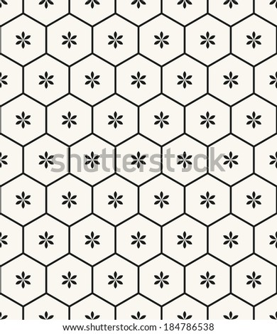 Vector seamless pattern. Modern stylish texture. Repeating geometric tiles - stock vector