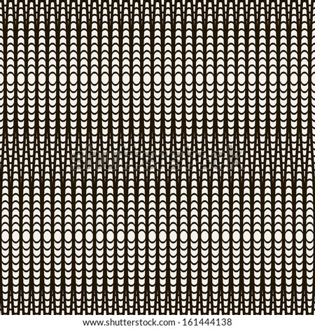 Vector seamless pattern. Modern stylish texture. Repeating geometric tiles. Stylish - stock vector