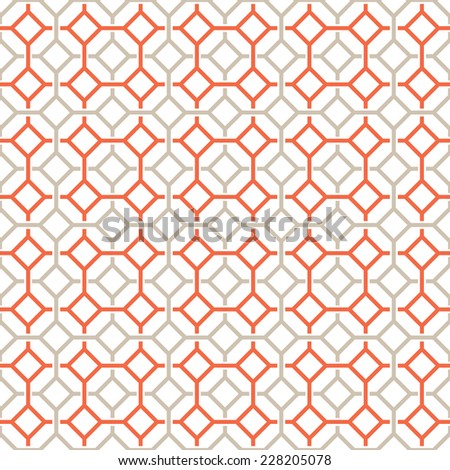 Vector Seamless Pattern Modern Stylish Texture Repeating