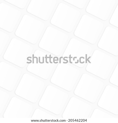 Vector seamless pattern. Modern stylish texture. Subtle geometric tiles. Volume squares. Background with 3D effect