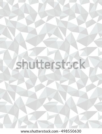 Vector seamless pattern of geometric gray texture