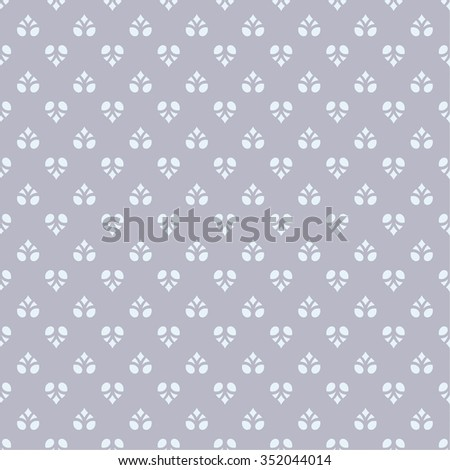 Vector seamless pattern. Repeating luxury elegant texture. You can use seamless patterns as background, fabric print, surface texture, wrapping paper, web page backdrop, wallpaper and more - stock vector