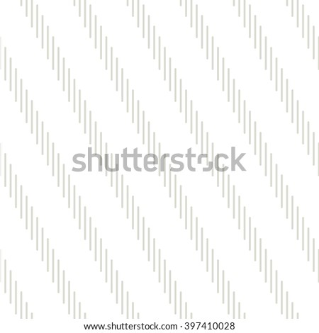 Vector seamless pattern. Repeating texture with diagonal dotted stripes. Subtle neutral swatch. - stock vector