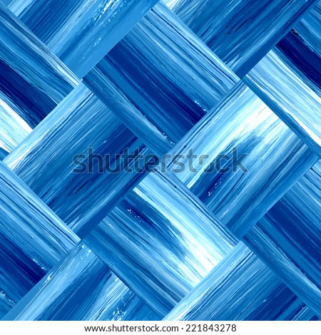 Vector seamless pattern. Retro background. Bright acrylic brush strokes. Template. Can be used for wallpaper, pattern fills, web page background, surface textures, textile. - stock vector