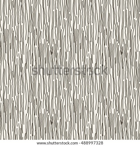 Vector seamless pattern. Striped abstract background. Cool structure with rough lines. Monochrome graphic design