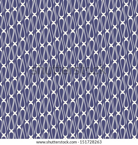 Vector seamless pattern. Stylish repeating texture with wavy stripes. Abstract grid background. Modern wallpaper
