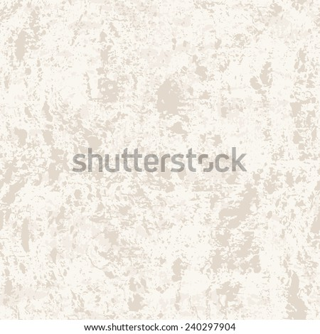 Vector seamless pattern. Subtle abstract background. Stylish grunge texture. Monochrome light texture of old concrete wall - stock vector
