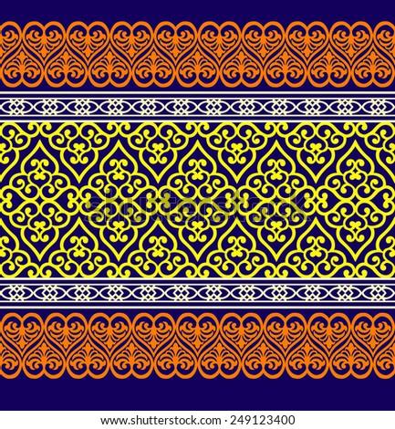 Vector seamless pattern. textile design - stock vector
