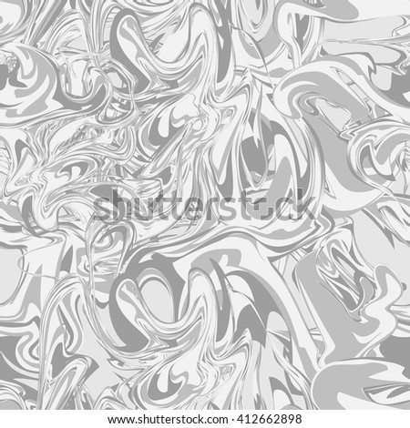 Vector seamless pattern texture in marbl. Hand drawn marbling illustration technique.  - stock vector