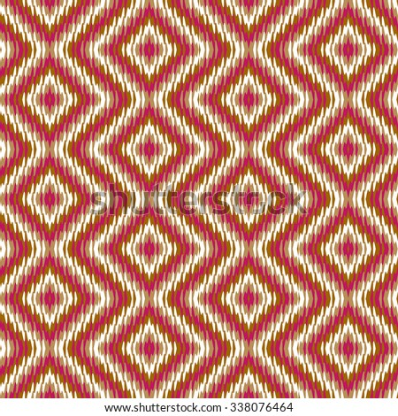 Vector seamless pattern tribal ethnic ornament, abstract geometric background illustration