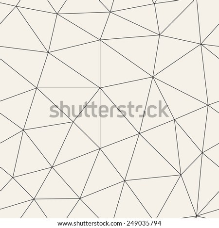 Vector seamless  pattern.Vector repeating texture. Repeating geometric tiles - stock vector
