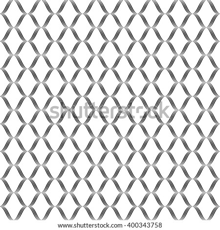 Vector seamless pattern with art ornament. Vintage elements for design . Ornamental lace tracery background. Endless texture  - stock vector