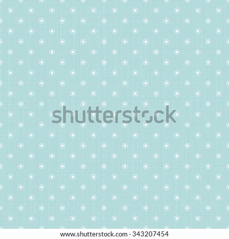 Vector seamless pattern with circles and dots in vintage style.