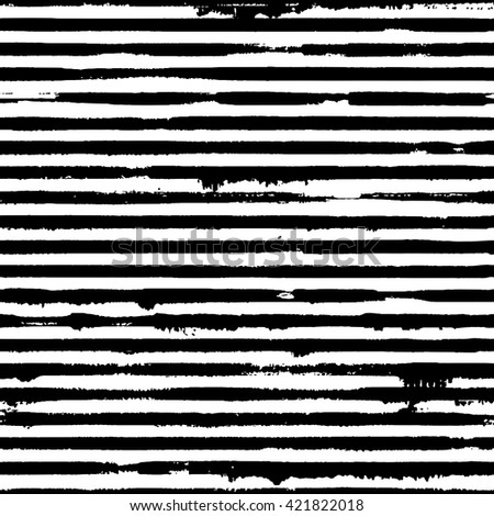 Vector seamless pattern with grunge stripes - stock vector